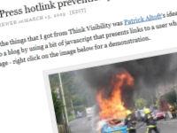 Image Hotlink Prevention Plugin